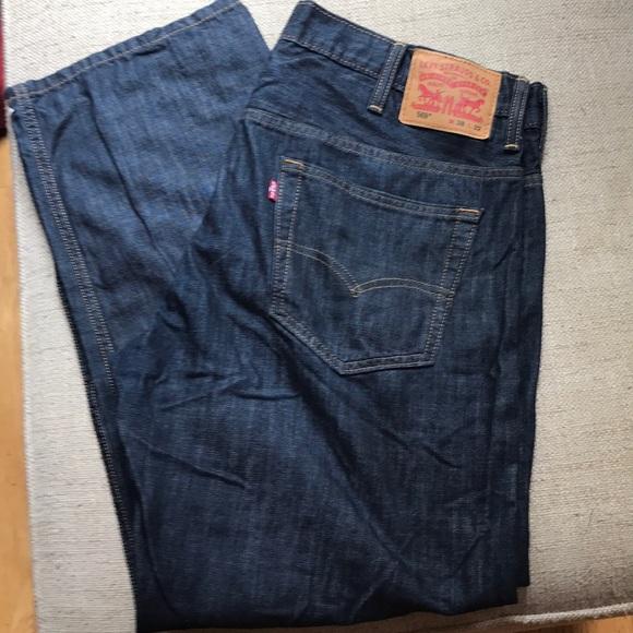 e50ba1ee Levi's Jeans | Levis Mens 569 Loose Straight 38x32 Euc | Poshmark